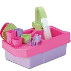 Imagem de Pia Cozinha Infantil Mamy Cook Acqua - Silmar Brinquedos