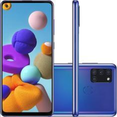 Imagem de Smartphone Samsung Galaxy A21s SM-A217F/DSN 4GB RAM 128GB Android