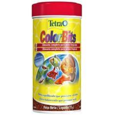 Imagem de Ração Tetra Colorbits Granules Em Grânulos - 75gr