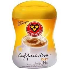 Imagem de Cafe 3 Corações Capuccino Diet Pote 150g