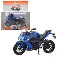 Imagem de Miniatura Moto Suzuki Gsx S1000 F California Cycle 1:18 Welly