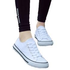 Imagem de Sapatos de lona baixa para casal Sapatos de estudante Coreano Vulcanizado Clássico