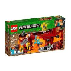 Imagem de 21154 Lego Minecraft - A Ponte Flamejante