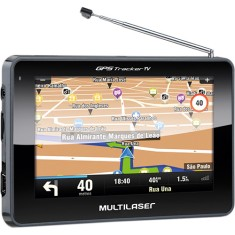 "GPS Automotivo Multilaser Gps Tracker III GP034 4,3 "" TV Digital"