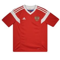 25842a05d Camisa Infantil Rússia I 2018 19 sem Número Torcedor Infantil Adidas