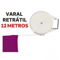 Imagem de Varal Retratil Multiangular Sublime com Corda de 12 Metros