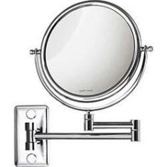 Imagem de Espelho cosmético de parede com braço articulado e lente aumento - Gardie Mobile - CrysBel