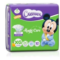 Imagem de Fralda Cremer Disney Baby Tamanho XG Prático 20 Unidades Peso Indicado 13 - 16Kg