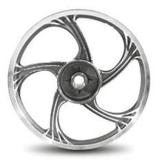 Imagem de Roda Aluminio Dianteira Temco Icarus  Ybr 125 K/E 00 A 13