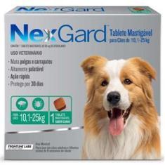 Imagem de Antipulgas e Carrapatos para Cães Nexgard G de 10,1 a 25kg Tablete Mastigável