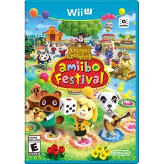 Jogo Animal Crossing: Amiibo Festival Wii U Nintendo