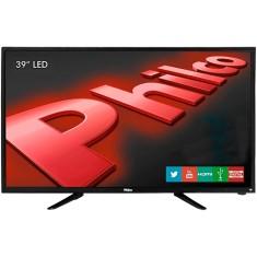 """Smart TV LED 39"""" Philco PH39N91DSGW 2 HDMI LAN (Rede)"""