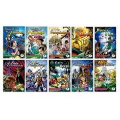 Imagem de Coleção Clássicos Em Quadrinhos Com 10 Livros Infantis