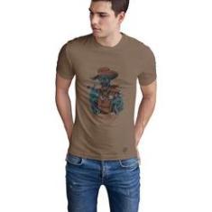 Imagem de Camiseta Mayon Algodão Premium Bege - Xerif