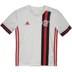 Camisa Infantil Flamengo II 2017 18 Sem Número Torcedor Infantil Adidas 83befaaf3342a