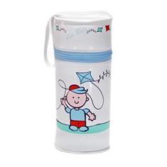 Imagem de Porta Mamadeira Térmico Unitário L.Baby Com Isopor Pipa - Cabe Avent e Mam