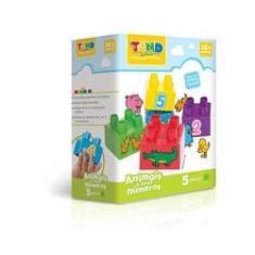 Imagem de Blocos De Montar Tand Baby Animais E Números 5 Pecas Toyster