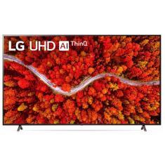 """Smart TV LED 75"""" LG ThinQ AI 4K HDR 75UP8050PSB"""