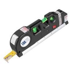 Imagem de Nível De Mão Com Laser, Bolha, Trena E Régua Melhor Que Deko