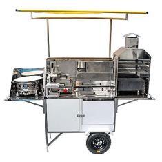 Imagem de Carrinho 5 em 1 Pastel, Lanche, Churrasco, Hot Dog e Batata Frita BLC42P/T Cefaz