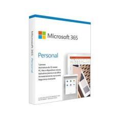 Microsoft 365 Personal Assinatura Anual para 1 Usuário PC, Mac, iOS e Android