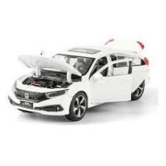 Imagem de Miniatura Carro Honda Civic 1:32 Abre 4 Portas Luz