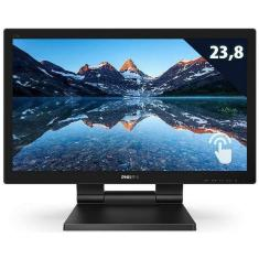 """Imagem de Monitor LED IPS 23,8 """" Philips Full HD 242B9T"""