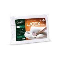 Imagem de Travesseiro Látex Light, Duoflex, Firme, 050 x 070 x 016 cm