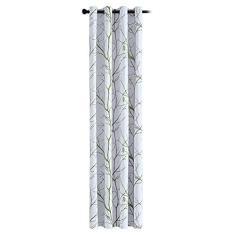 Imagem de Duotar Cortina De Persiana,Cortina de cortina de janela de 1 unidade impressa em árvore cortina de proteção solar com isolamento térmico para quarto de dormir em casa