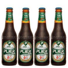 Imagem de Cerveja Malzbier Sem Álcool Plier Zero-Long Neck 335 Ml 4 Un