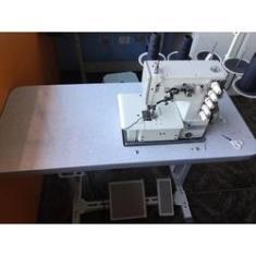 Imagem de Máquina de Costura Industrial Completa, 3 Agulhas, 5 Fios, 3000rpm, Lubrif. Automática, BC40005