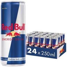 Imagem de Energético Red Bull Energy Drink Pack com 24 Latas de 250Ml