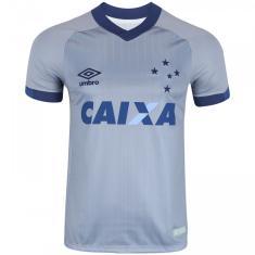 Camisa Cruzeiro III 2018 19 Torcedor Masculino Umbro cad85aa84eea0