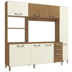Imagem de Cozinha Compacta 3 Gavetas 7 Portas Soft E780-FROW Kappesberg