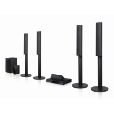 Home Theater LG com Blu-Ray 3D 1.000 W 5.1 Canais 2 HDMI LHB655