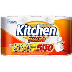 Imagem de Papel Toalha Kitchen Jumbo Leve 540 Pague 500 Folhas