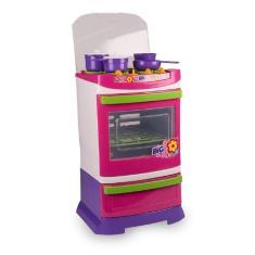 Imagem de Brinquedo Infantil Criança Poliplac Fogão Chef De Cozinha