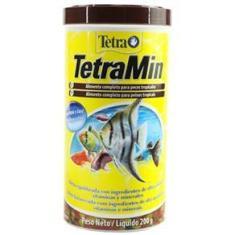 Imagem de Ração Para Peixe Tetra Min Flakes 1l 200g