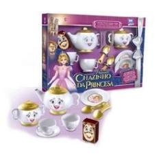 Imagem de Chazinho da Princesa 9 Peças Cozinha Infantil Brinquedo