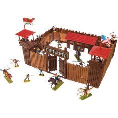 Imagem de Miniatura colecionavel forte apache batalha medio gulliver