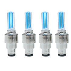 Imagem de Wakauto Lâmpada LED Flash para válvula de roda de pneu, 2 peças de luzes de roda para válvula de pneu, luz de LED para roda de pneu para carro, bicicleta, motocicleta ()