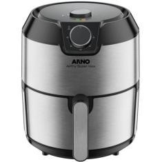 Fritadeira Elétrica Sem óleo Arno AirFry Super Inox Capacidade 4,2l