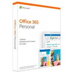 Office 365 Personal - Licença Anual para 1 usuário - 1 TB de Armazenamento One Drive - 1 PC ou Mac +