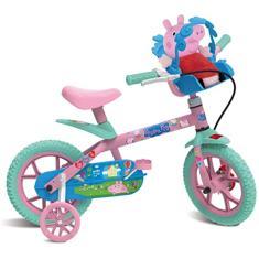 Imagem de Bicicleta Bandeirante Lazer Peppa Aro 12 Peppa Pig