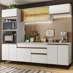 Imagem de Cozinha Completa 1 Gaveta 10 Portas Reims 260002 Madesa