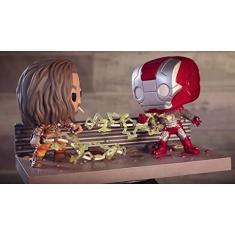 Imagem de Funko Pop Marvel Studios 361 Whiplash Vs Iron Man