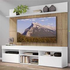 """Imagem de Rack com Painel TV 65"""" Madri Multimóveis /Rustic e Prateleira"""