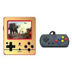 Imagem de Dan&Dre Console portátil de videogame – Console de jogos clássico embutido retrô 520, tela de 3 polegadas, 600 mAh, bateria recarregável, jogador, jogos para crianças e adultos