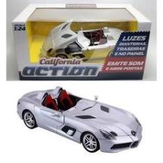 Imagem de Mercedes-Benz SLR McLaren Stirling Moss - Som e Luz - California Action - 1/24 - California Toys