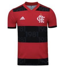 Imagem de Camisa Jogo Flamengo I 2021/22 Adidas